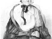 English: Engraving of , the mother of , founder of the .