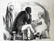 Illustration of Tom and Eva by Hammatt Billings for the 1853 deluxe edition of Uncle Tom's Cabin.