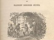 Title-page illustration by Hammatt Billings for Uncle Tom's Cabin Edition: Boston: John P. Jewett and Company, 1852. Shows characters of Chloe, Mose, Pete, Baby, Tom.