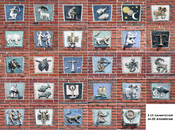English: 29 plaques by Anno Smith in the Lauwersstraat and Amstelstraat in Groningen, the Netherlands Nederlands: 29 tableaus door Anno Smith in de Lauwersstraat en Amstelstraat in Groningen