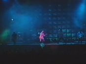 Garbage performing at the 1998 Reading Festival