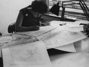 Geography Drawing Office, 1964