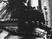 Erik Bergman (1886-1970), parish minister, father of the Swedish film director Ingmar Bergman. Photo: Sermon at Hedvig Eleonora Church, Stockholm. c. 1930. Photographer unknown. Source: Stockholms stadsmuseum.