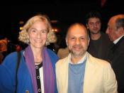 Philosopher Martha Nussbaum with Akbar Ganji in Chicago