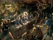 Tintoretto, the Last Supper fresco