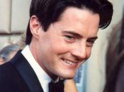 Kyle MacLachlan at 43rd Emmy Awards ceremony