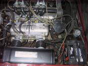 English: 1976 Chevrolet Cosworth Vega engine