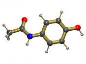Acetaminophen (3D structure) overdose is the most common cause of drug-induced liver disease