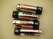 Uniross Ni-MH batteries