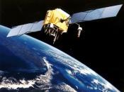 Artist Interpretation of GPS satellite, image courtesy of NASA