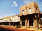 English: Part of historic downtown Nacogdoches, Texas