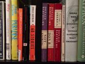 Barthelme bookshelf