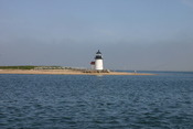 Brant Point Light in Nantucket Harbor