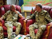 Swedish visit to Regional Command North
