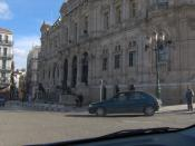 English: The city hall of Oran, Algeria. Français : Mairie d'Oran, Place des Lions