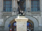 Statue of Ovid in Constantza