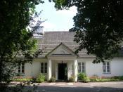 English: Chopin's mansion in Żelazowa Wola, Poland