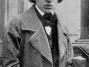 La única fotografía conocida de Frédéric Chopin (París, 1849)
