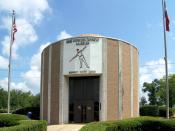 The Babe Didrikson Zaharias Museum located at 30.0966° -94.1143° in Beaumont, Texas.