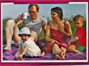 Watership Down Family Photo - Summer 1986 - Dejeuner sur l'herbe