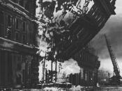 Bombing of London.