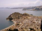 Copacabana peninsula, Lake Titicaca