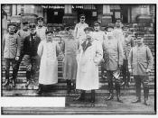 Von Hindenburg and staff  (LOC)