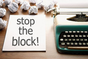 stop the writers block