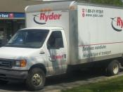 2003-2005 Ford E-450 Ryder photographed in Dorval, Quebec, Canada. Category:Ford E-Series