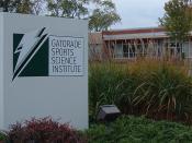 English: Photo of Gatorade Sports Science Institute on West Main Street in Barrington, Illinois.