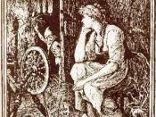 Rumpelstiltskin from The Blue Fairy Book, by Henry J. Ford