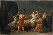 Jacques-Louis David - The Death of Socrates - Google Art Project