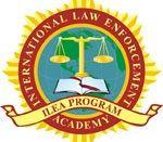 English: International Law Enforcement Academies Program Logo