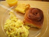 English: A breakfast.