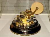 Thomas Edison Gold & Stock Telegraph, Henry Ford Museum, Dearborn, MI
