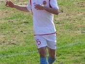 English: Football player Vladislav Dubovoy