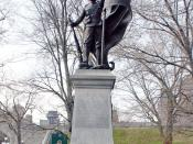 Memorial to Quebec soldiers who fell in the Boer War, Quebec City, QC