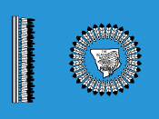 Flag of the Blackfoot Nation