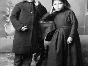 Jean-Louis and Marie-Angélique Riel, children of Louis Riel