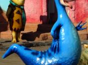 English: Dino and Fred Flintstone figurines at the Ankara Public Amusement Park losslessly cropped from original File:Harikalar_Diyari_Flintstones_06028_nevit.jpg, after the The Flintstones series
