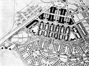 Plan of Boulder City by DeBoer, 1930
