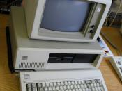 An IBM 5160 (PC XT).