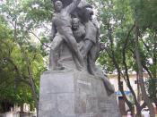 English: Monument to the crew of the Battleship Potemkin in Odessa, Ukraine