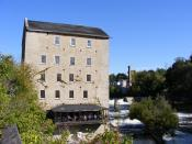 Old Mill in Elora, Ontario.