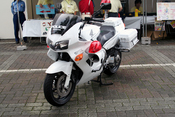 English: Japanese police motorcycle HONDA VFR800P in Saitama prefecture. 日本語: 日本の埼玉県警察が使用するホンダ・VFR800P。