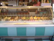 English: English ice cream parlour