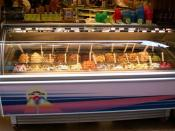 English: Ice cream parlour - Italian version
