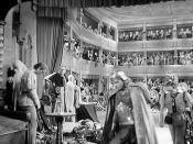 10 The Great Garrick (1937) Hamlet Sequence, Fritz Leiber Jr as Fortinbras and Fritz Leiber Sr as Horatio (Annotated)
