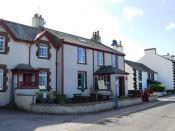 English: Rose Garth Guest House & Tea Room, Ravenglass Bed & Breakfast & tea rooms