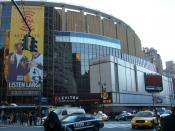 Madison Square Garden, home of the New York Rangers, New York Knicks and New York Liberty.